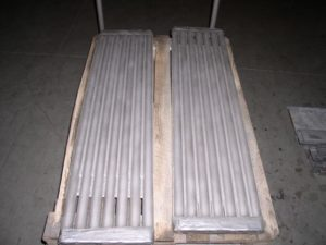 Boiler Tubes - arc sprayed w/iron, chrome, boron
